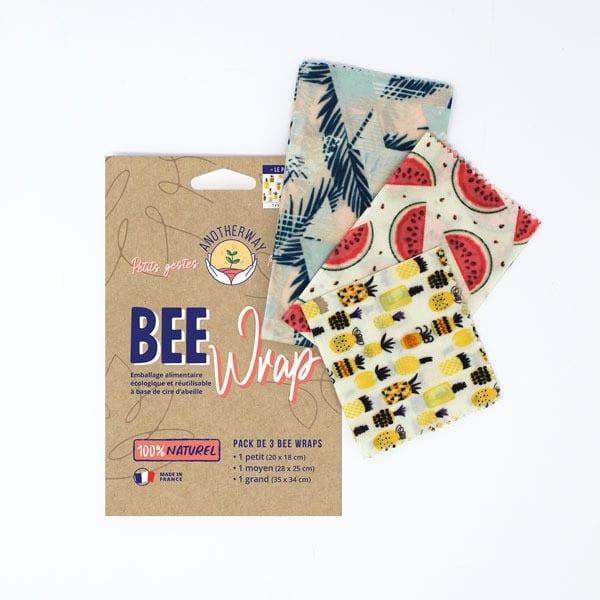 Pack 3 emballages alimentaires réutilisables - Original